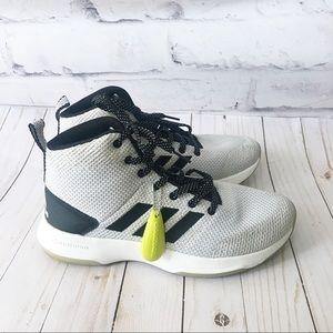 Adidas Cloudfoam Midtop Executor Sneaker Grey 7.5